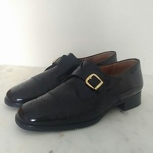 ROBERTO CAPUCCI - Italian leather buckle shoes